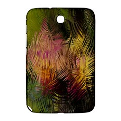 Abstract Brush Strokes In A Floral Pattern  Samsung Galaxy Note 8.0 N5100 Hardshell Case