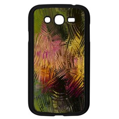 Abstract Brush Strokes In A Floral Pattern  Samsung Galaxy Grand DUOS I9082 Case (Black)