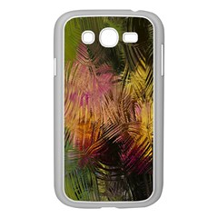Abstract Brush Strokes In A Floral Pattern  Samsung Galaxy Grand DUOS I9082 Case (White)