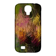 Abstract Brush Strokes In A Floral Pattern  Samsung Galaxy S4 Classic Hardshell Case (PC+Silicone)