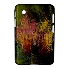Abstract Brush Strokes In A Floral Pattern  Samsung Galaxy Tab 2 (7 ) P3100 Hardshell Case