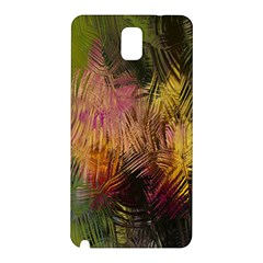 Abstract Brush Strokes In A Floral Pattern  Samsung Galaxy Note 3 N9005 Hardshell Back Case