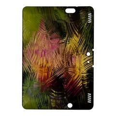 Abstract Brush Strokes In A Floral Pattern  Kindle Fire HDX 8.9  Hardshell Case