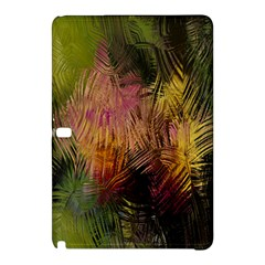 Abstract Brush Strokes In A Floral Pattern  Samsung Galaxy Tab Pro 10 1 Hardshell Case