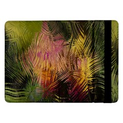 Abstract Brush Strokes In A Floral Pattern  Samsung Galaxy Tab Pro 12.2  Flip Case