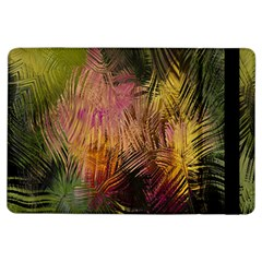 Abstract Brush Strokes In A Floral Pattern  iPad Air Flip