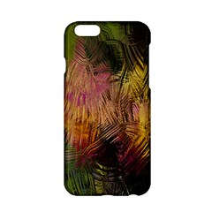 Abstract Brush Strokes In A Floral Pattern  Apple iPhone 6/6S Hardshell Case