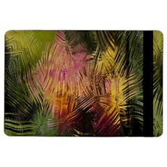 Abstract Brush Strokes In A Floral Pattern  Ipad Air 2 Flip