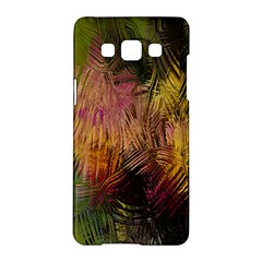Abstract Brush Strokes In A Floral Pattern  Samsung Galaxy A5 Hardshell Case