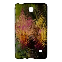 Abstract Brush Strokes In A Floral Pattern  Samsung Galaxy Tab 4 (7 ) Hardshell Case