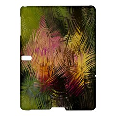 Abstract Brush Strokes In A Floral Pattern  Samsung Galaxy Tab S (10.5 ) Hardshell Case