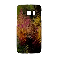Abstract Brush Strokes In A Floral Pattern  Galaxy S6 Edge