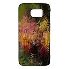 Abstract Brush Strokes In A Floral Pattern  Galaxy S6