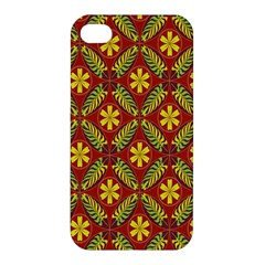 Beautiful Abstract Pattern Background Wallpaper Seamless Apple Iphone 4/4s Hardshell Case