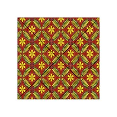 Beautiful Abstract Pattern Background Wallpaper Seamless Acrylic Tangram Puzzle (4  x 4 )