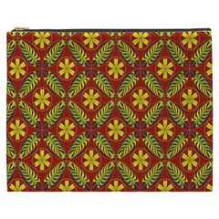 Beautiful Abstract Pattern Background Wallpaper Seamless Cosmetic Bag (XXXL)
