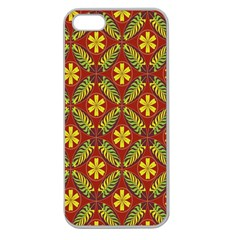 Beautiful Abstract Pattern Background Wallpaper Seamless Apple Seamless iPhone 5 Case (Clear)