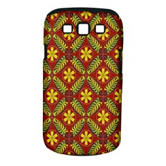 Beautiful Abstract Pattern Background Wallpaper Seamless Samsung Galaxy S III Classic Hardshell Case (PC+Silicone)