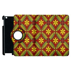 Beautiful Abstract Pattern Background Wallpaper Seamless Apple iPad 2 Flip 360 Case