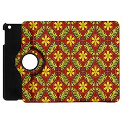 Beautiful Abstract Pattern Background Wallpaper Seamless Apple iPad Mini Flip 360 Case