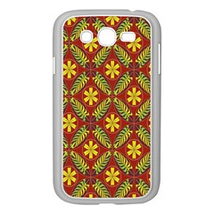 Beautiful Abstract Pattern Background Wallpaper Seamless Samsung Galaxy Grand DUOS I9082 Case (White)