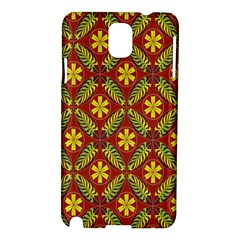 Beautiful Abstract Pattern Background Wallpaper Seamless Samsung Galaxy Note 3 N9005 Hardshell Case