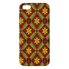 Beautiful Abstract Pattern Background Wallpaper Seamless iPhone 5S/ SE Premium Hardshell Case
