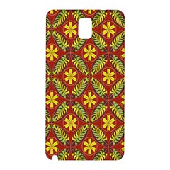 Beautiful Abstract Pattern Background Wallpaper Seamless Samsung Galaxy Note 3 N9005 Hardshell Back Case