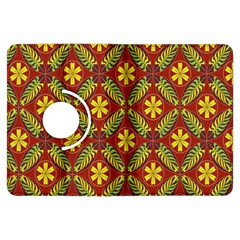 Beautiful Abstract Pattern Background Wallpaper Seamless Kindle Fire HDX Flip 360 Case
