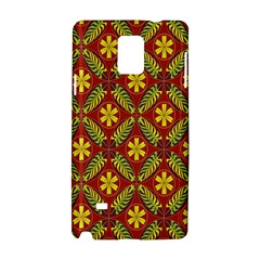 Beautiful Abstract Pattern Background Wallpaper Seamless Samsung Galaxy Note 4 Hardshell Case