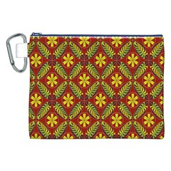 Beautiful Abstract Pattern Background Wallpaper Seamless Canvas Cosmetic Bag (xxl)