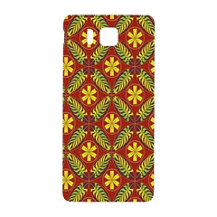 Beautiful Abstract Pattern Background Wallpaper Seamless Samsung Galaxy Alpha Hardshell Back Case