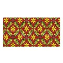 Beautiful Abstract Pattern Background Wallpaper Seamless Satin Shawl