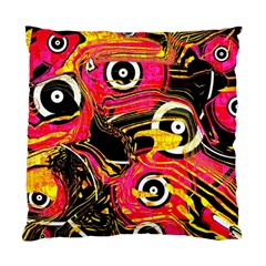 Abstract Clutter Pattern Baffled Field Standard Cushion Case (two Sides)