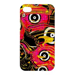 Abstract Clutter Pattern Baffled Field Apple iPhone 4/4S Premium Hardshell Case