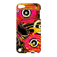 Abstract Clutter Pattern Baffled Field Apple iPod Touch 5 Hardshell Case