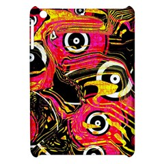 Abstract Clutter Pattern Baffled Field Apple iPad Mini Hardshell Case