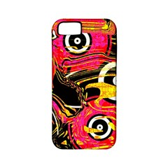 Abstract Clutter Pattern Baffled Field Apple iPhone 5 Classic Hardshell Case (PC+Silicone)