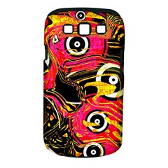 Abstract Clutter Pattern Baffled Field Samsung Galaxy S Iii Classic Hardshell Case (pc+silicone)