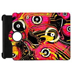 Abstract Clutter Pattern Baffled Field Kindle Fire HD 7