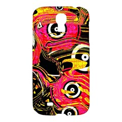 Abstract Clutter Pattern Baffled Field Samsung Galaxy S4 I9500/I9505 Hardshell Case