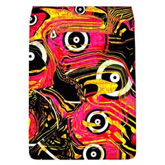 Abstract Clutter Pattern Baffled Field Flap Covers (l)