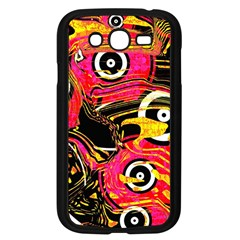 Abstract Clutter Pattern Baffled Field Samsung Galaxy Grand DUOS I9082 Case (Black)
