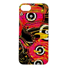 Abstract Clutter Pattern Baffled Field Apple iPhone 5S/ SE Hardshell Case