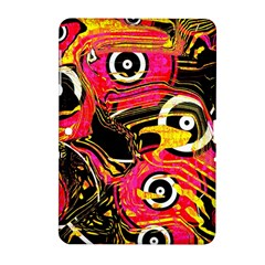 Abstract Clutter Pattern Baffled Field Samsung Galaxy Tab 2 (10 1 ) P5100 Hardshell Case