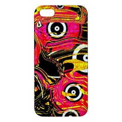 Abstract Clutter Pattern Baffled Field iPhone 5S/ SE Premium Hardshell Case