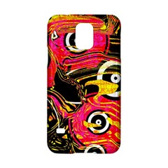 Abstract Clutter Pattern Baffled Field Samsung Galaxy S5 Hardshell Case