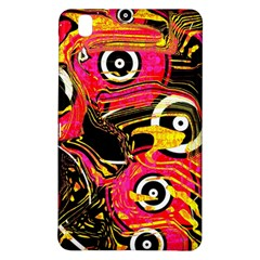 Abstract Clutter Pattern Baffled Field Samsung Galaxy Tab Pro 8.4 Hardshell Case