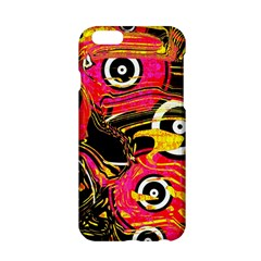 Abstract Clutter Pattern Baffled Field Apple iPhone 6/6S Hardshell Case