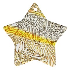Abstract Composition Pattern Ornament (star)